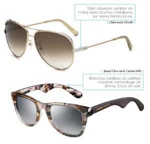 bfd4ac600179b1 Depuis quelques années déjà, l industrie de l optique s en donne à coeur  joie dans la création de lunettes. Finesse, délicatesse, légèreté ou  franche ...