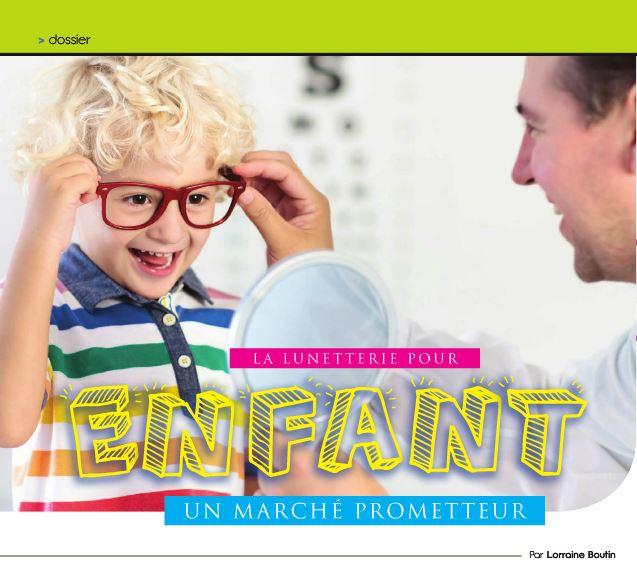 La lunetterie pour enfant
